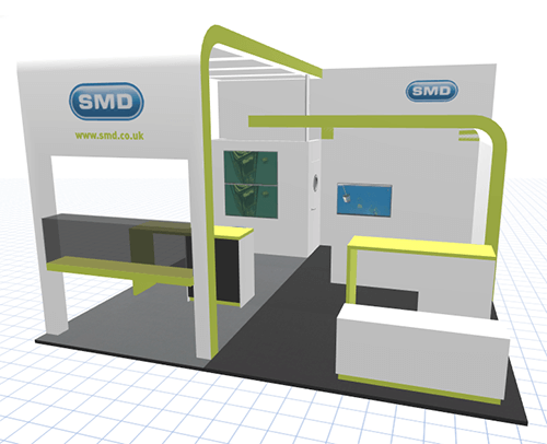 3D Configurator to Build Trade Show Exhibits