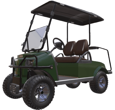 Customize Golf Carts and Specialty Vehicles with Powertrak