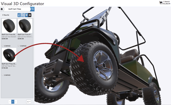 3D Configurator Off-road Vehicles