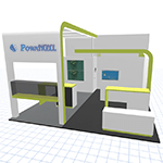 Design Trade show exhibits with a 3D Configurator