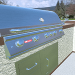 Design Outdoor Kitchens and BBQ Islands with 3D Configurator