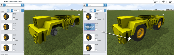 3D Configurator Construction Equipment