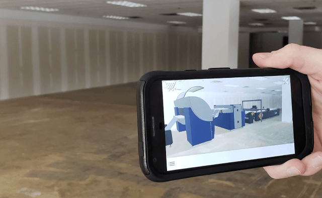 Visual Room Configurator with Augmented Reality