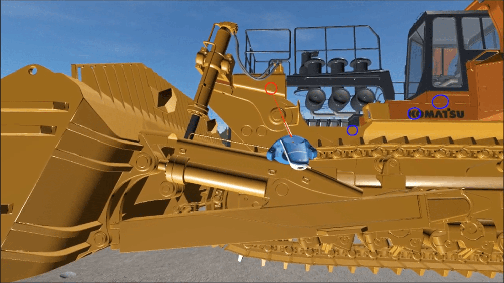 Heavy Equipment Virtual Reality Experience