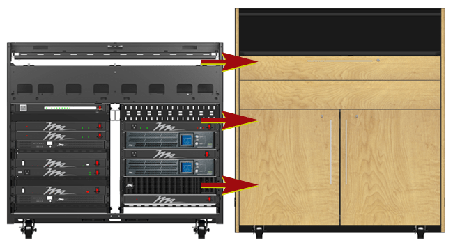 2D Visual Configurator for Audio Rack