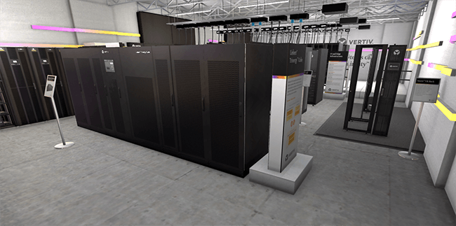 Virtual Reality Data Center Experience