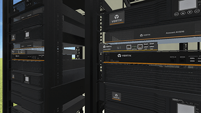 Vertiv Edge Rack 3D Configuration
