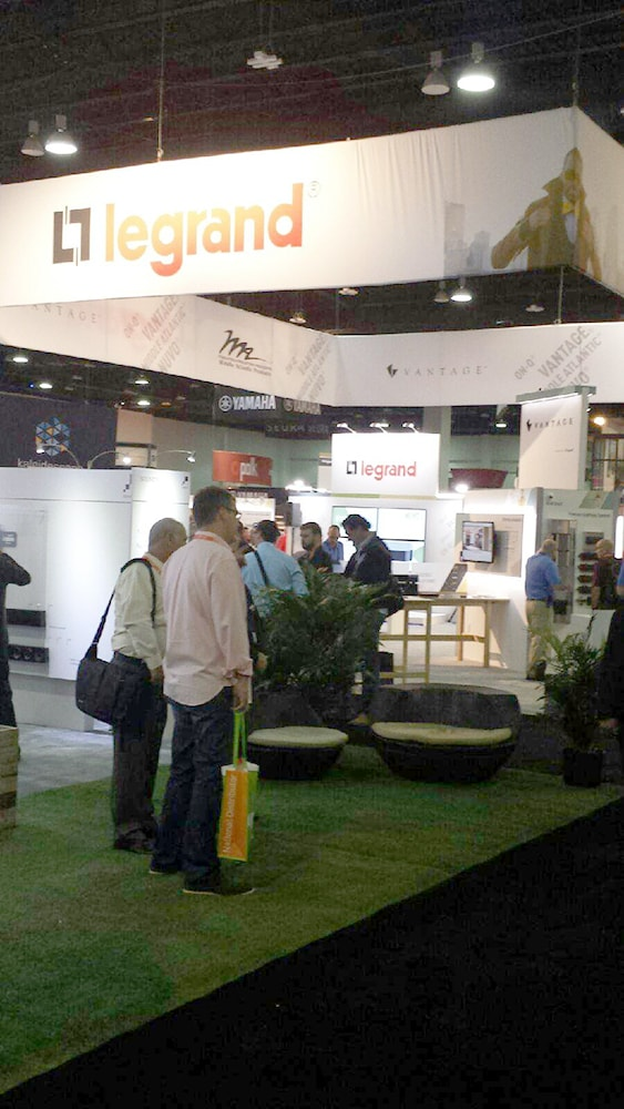 The Legrand Booth at CEDIA 2014
