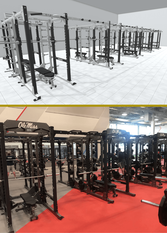 Customize Hammer Strength Rigs and Racks with Powertrak CPQ