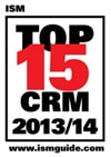 Powertrak Wins Top 15 CRM Award from ISM