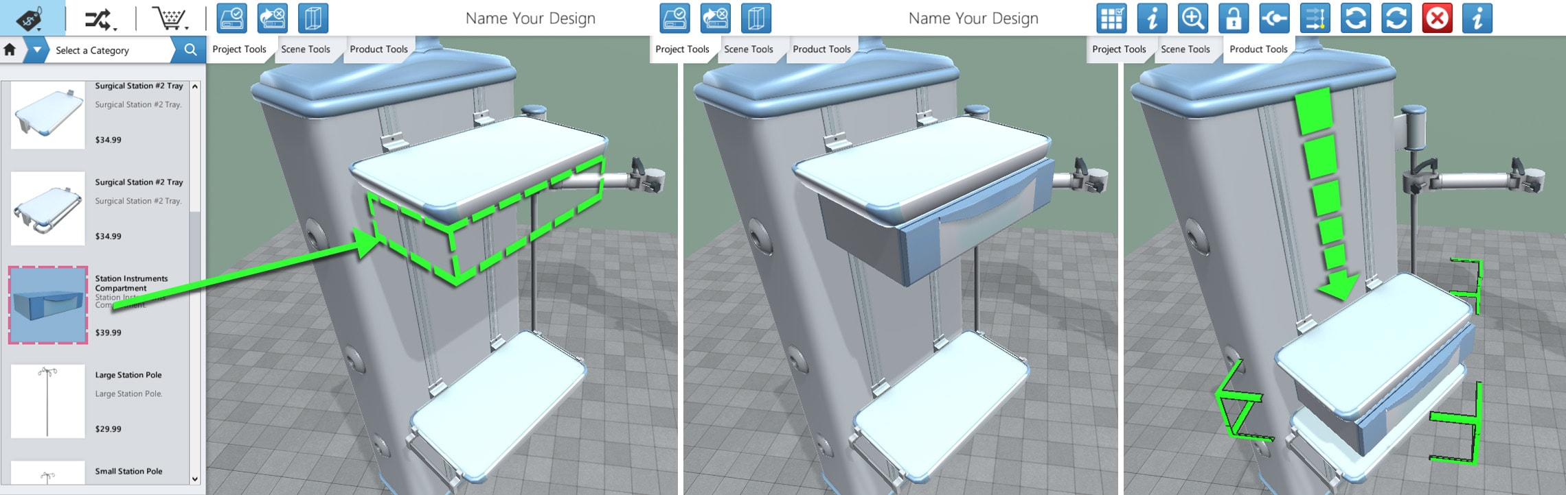 Drag and Drop Medical Configurator