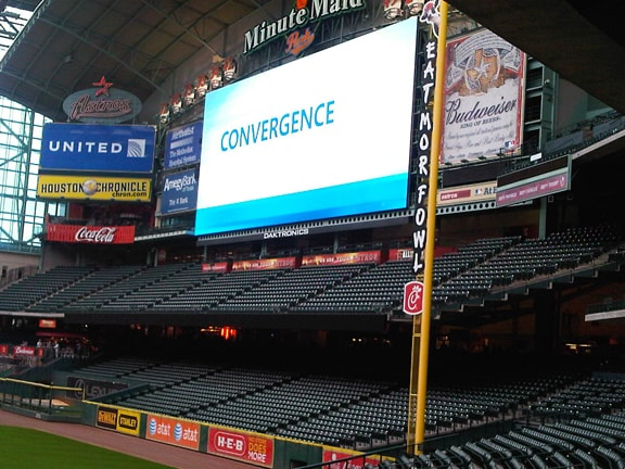 Minute Maid Park Hosts Microsoft Convergence Party