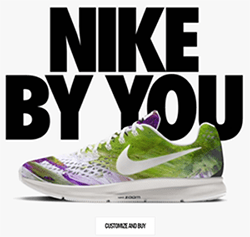 Nike By You Custom Product Configuration