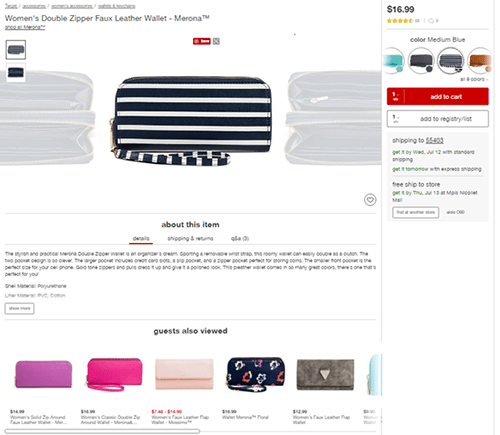 Target's Product Configurator