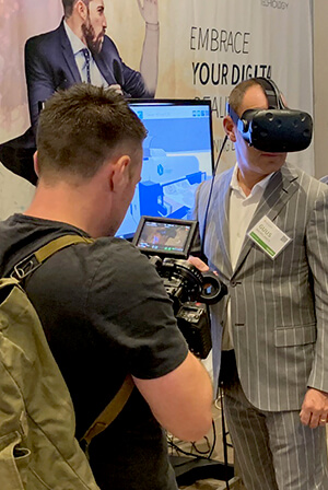 Virtual Reality at Apparel Conference