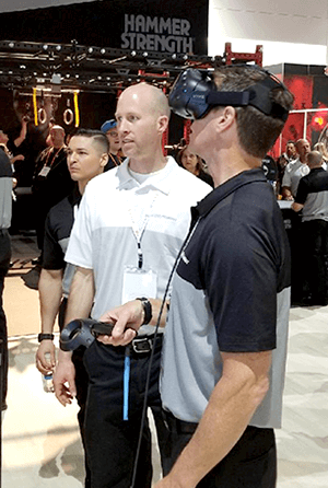 Virtual Reality Experience at Trade Shows