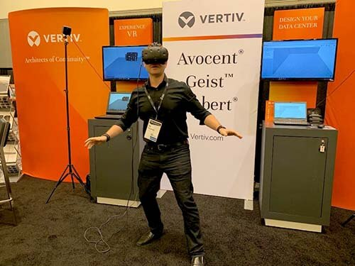 Data Center Configuration and VR Experience