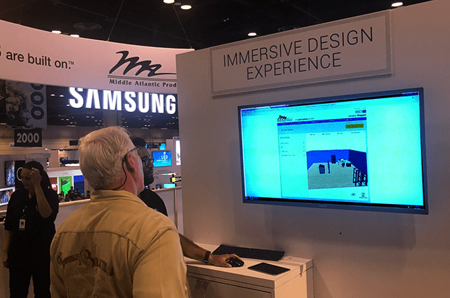 Visual Rack Configurator at InfoComm 2017