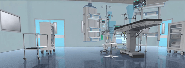 3D Medical Equipment and Surgical Room Configurator